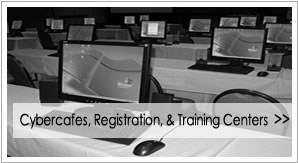 Cybercafes, Registration, & Training Centers